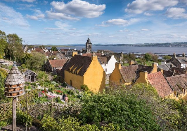 View across culross