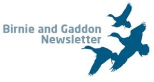 Birnie & Gaddon Newsletter