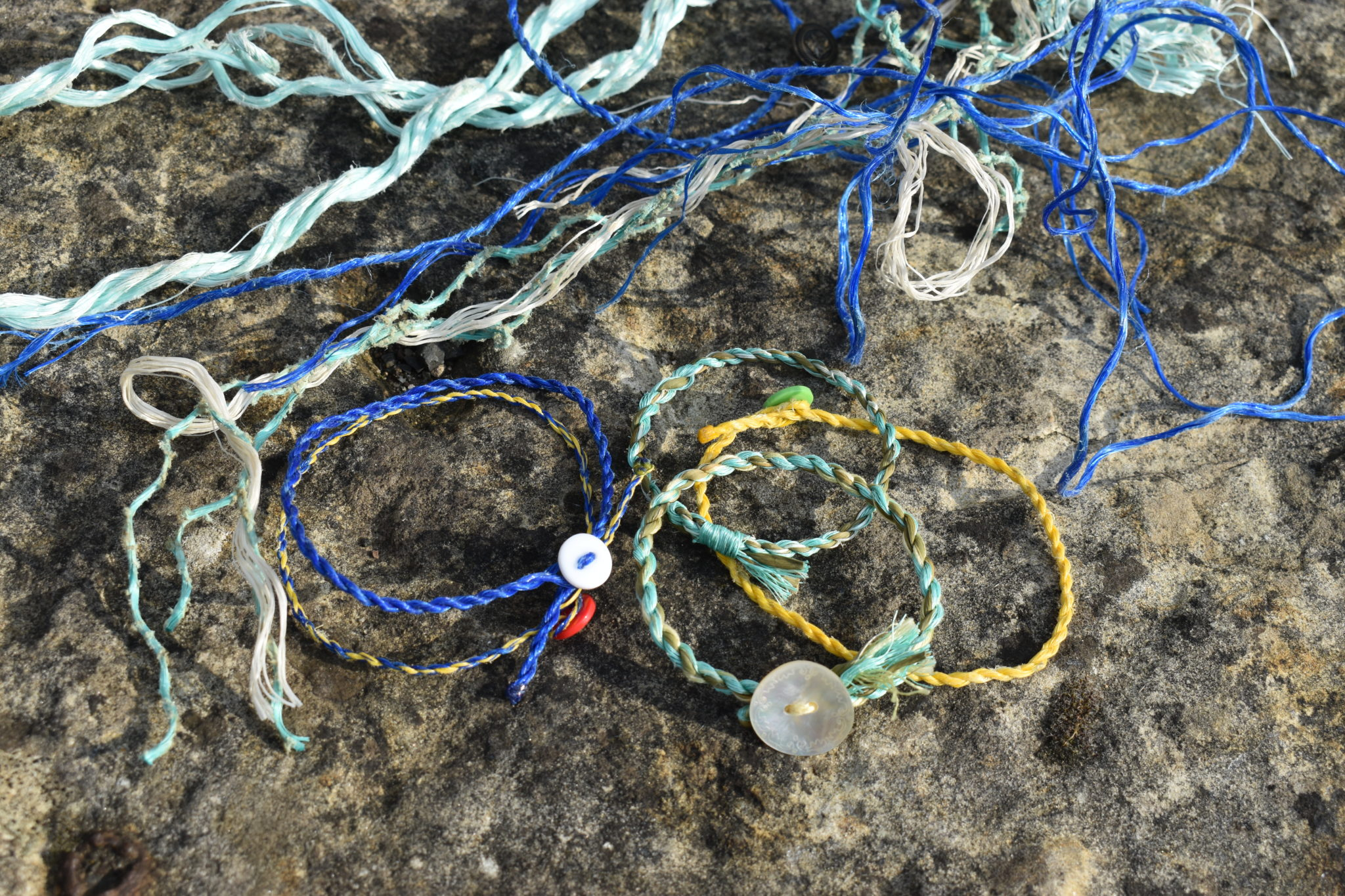 New Use for Old Rope (Upcycling Coastal Fishing Gear)