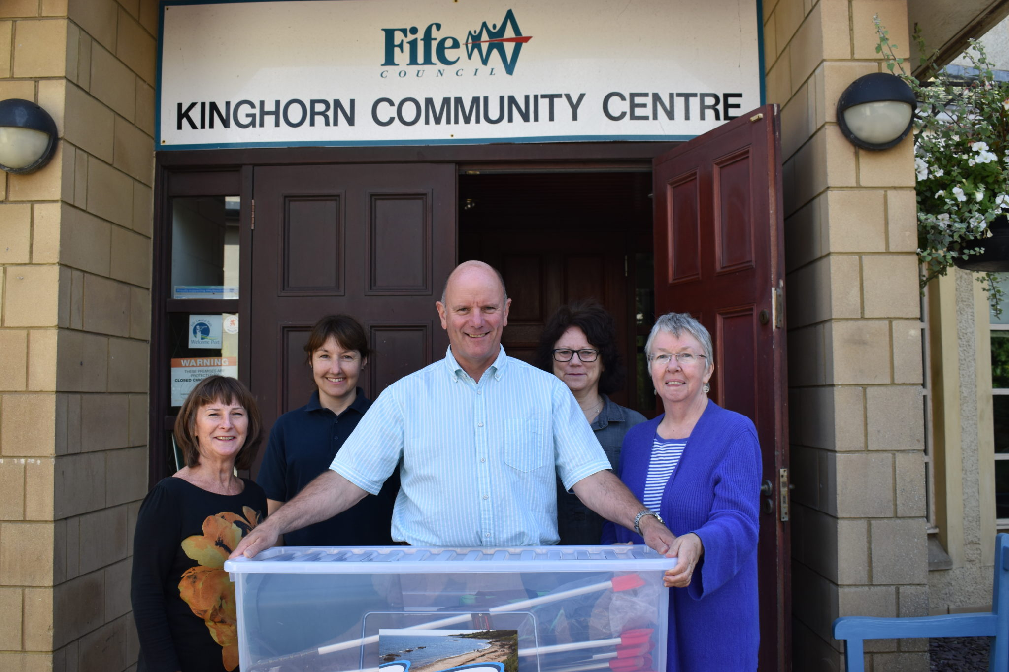 Trust Gift Kinghorn Community A Beach Litter Tool Kit