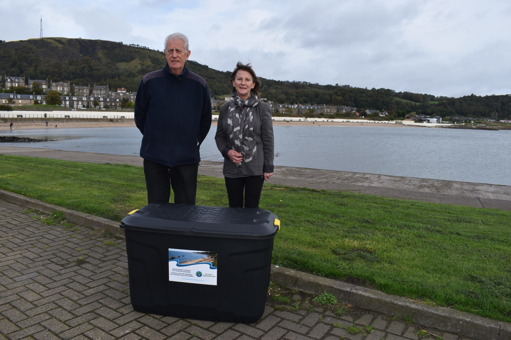 Trust Supports Burntisland Environmental Initiatives