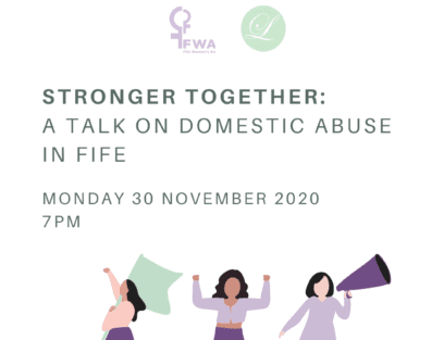 Stronger Together: a talk on domestic abuse in Fife