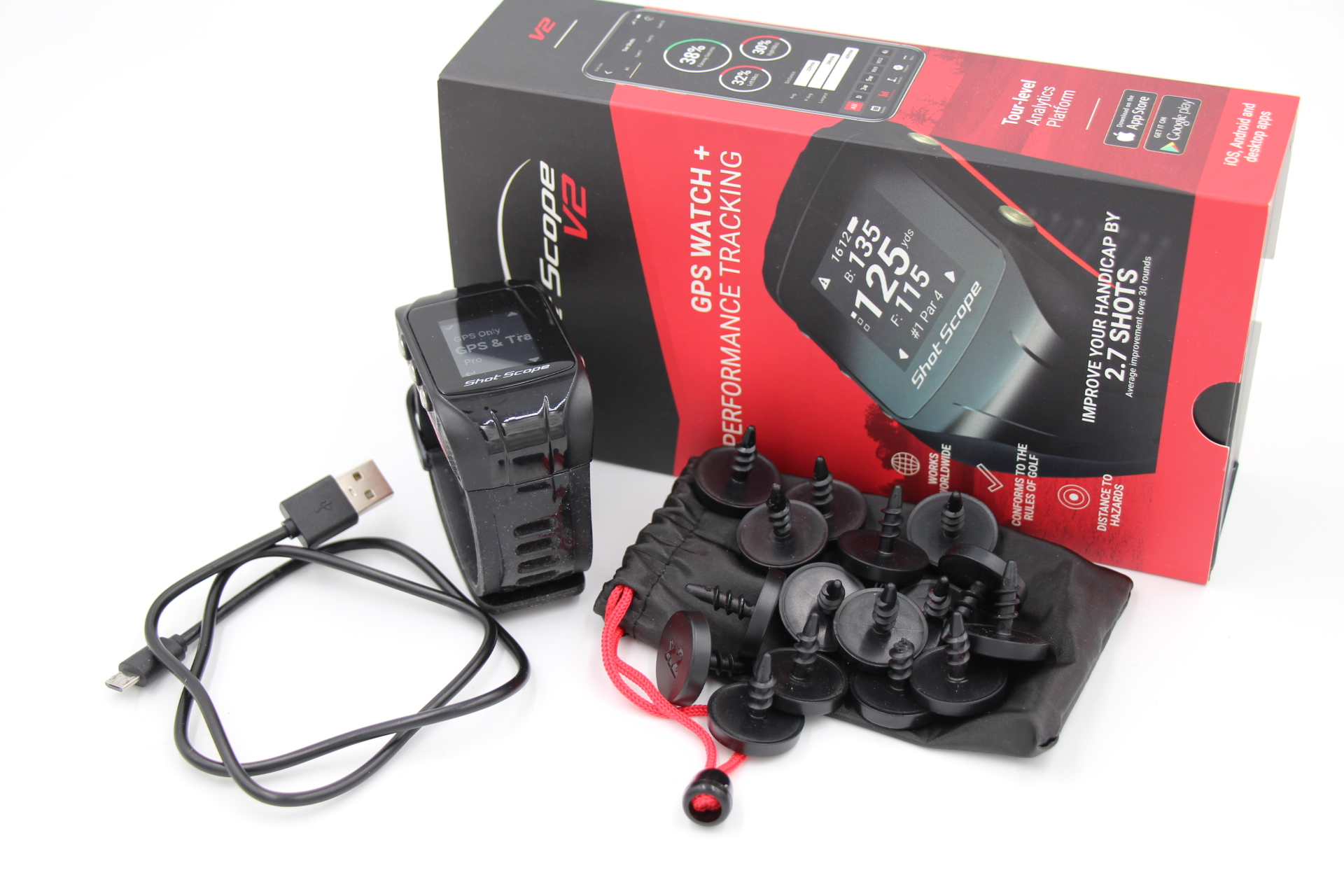 Shot Scope V2 GPS Watch & Performance Tracker