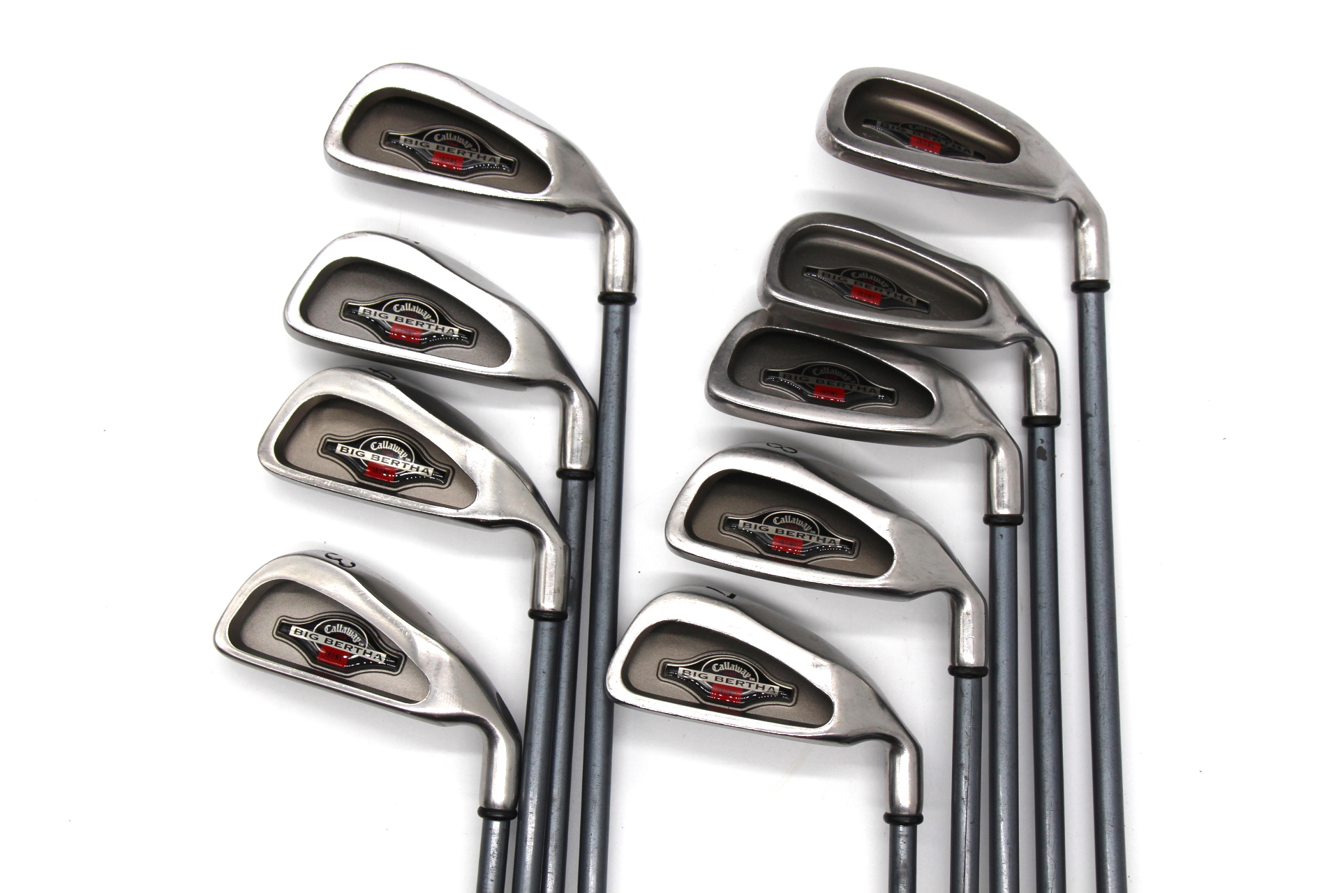 Callaway Big Bertha Iron Set 3-SW