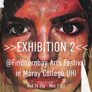 JBA Exhibits @ FINDHORN BAY ARTS FESTIVAL