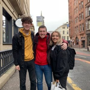 8 Questions with Fraser Scott and Iona Ramsay