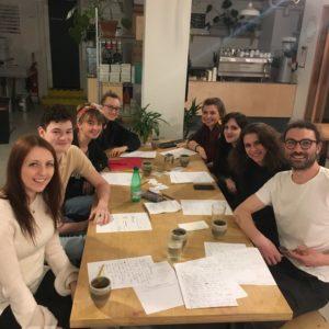 Steering Group Meeting in March