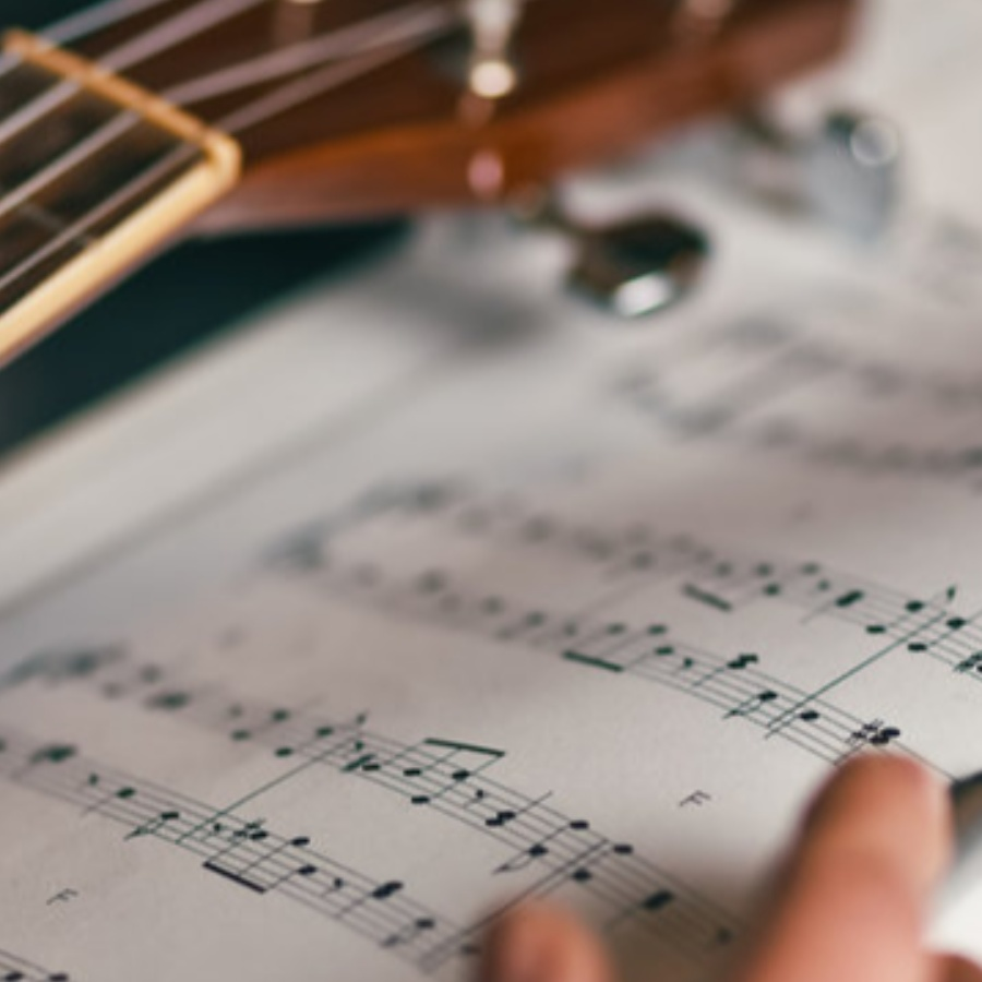 How can you be a musician when you can't face the music?