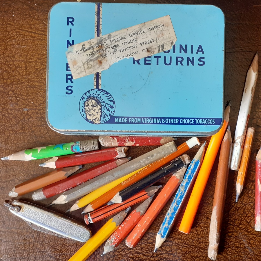 The Pencil. Perhaps my best days are gone?