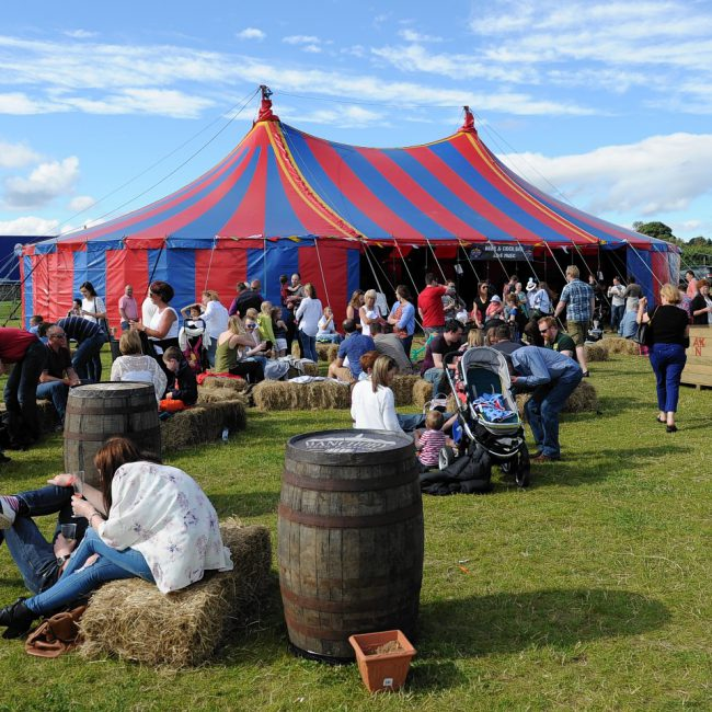 Fun in Focus Banchory Beer Festival Pictured is a general view of the festival. Picture by DARRELL BENNS  Pictured on 09/08/2015