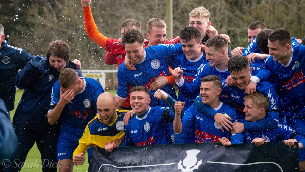 Banchory St Ternan Lift the Championship