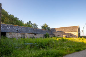 Greendams steading development on Leys Estate