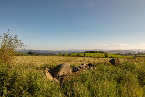 Uninterrupted views from Pitcullen for sale on Leys Estate