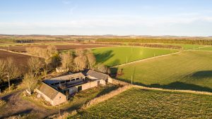 Glashmore steading on the Leys Estate is for sale