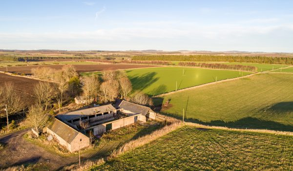 Glashmore Steading and surrounding countryside