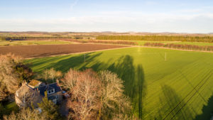 Glashmore steading offers a stunning countryside setting on Leys Estate