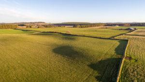 Countryside surrounding Glashmore steading development on Leys Estate
