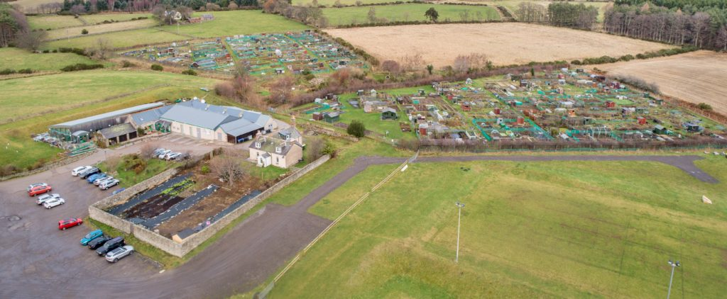 Allotments on Leys Estate, Banchory