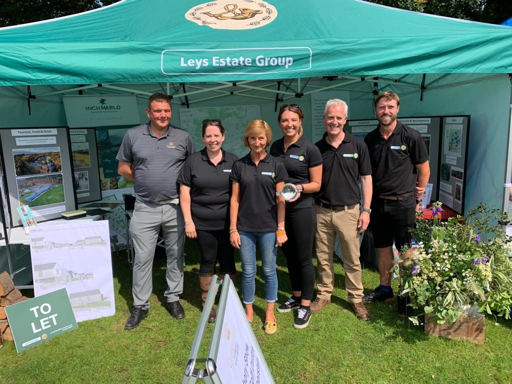 Leys Estate Group team at Banchory Show