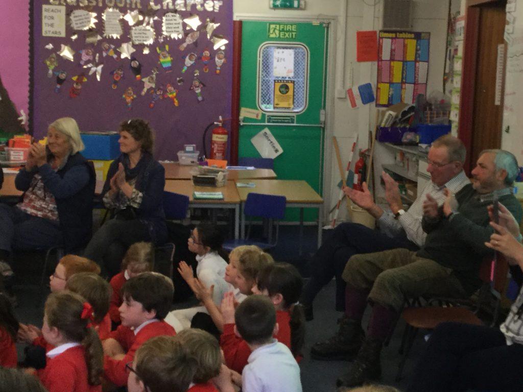 Leys Estate Visits Crathes Primary School