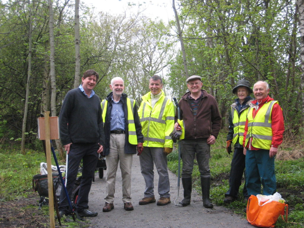 Banchory Paths Association and Leys Estate