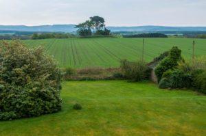 Hattonburn Farmhouse view over Raemior on Leys Estate