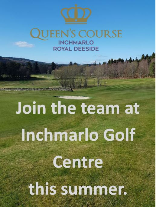 Inchmarlo Golf Centre Summer Vacancy