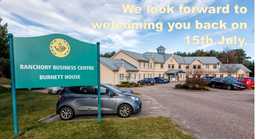 Banchory Business Centre reopens