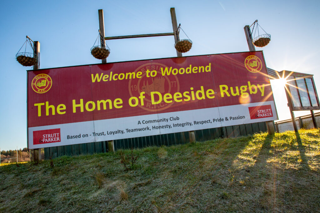 Leys Estate - the home of Deeside Rugby Club