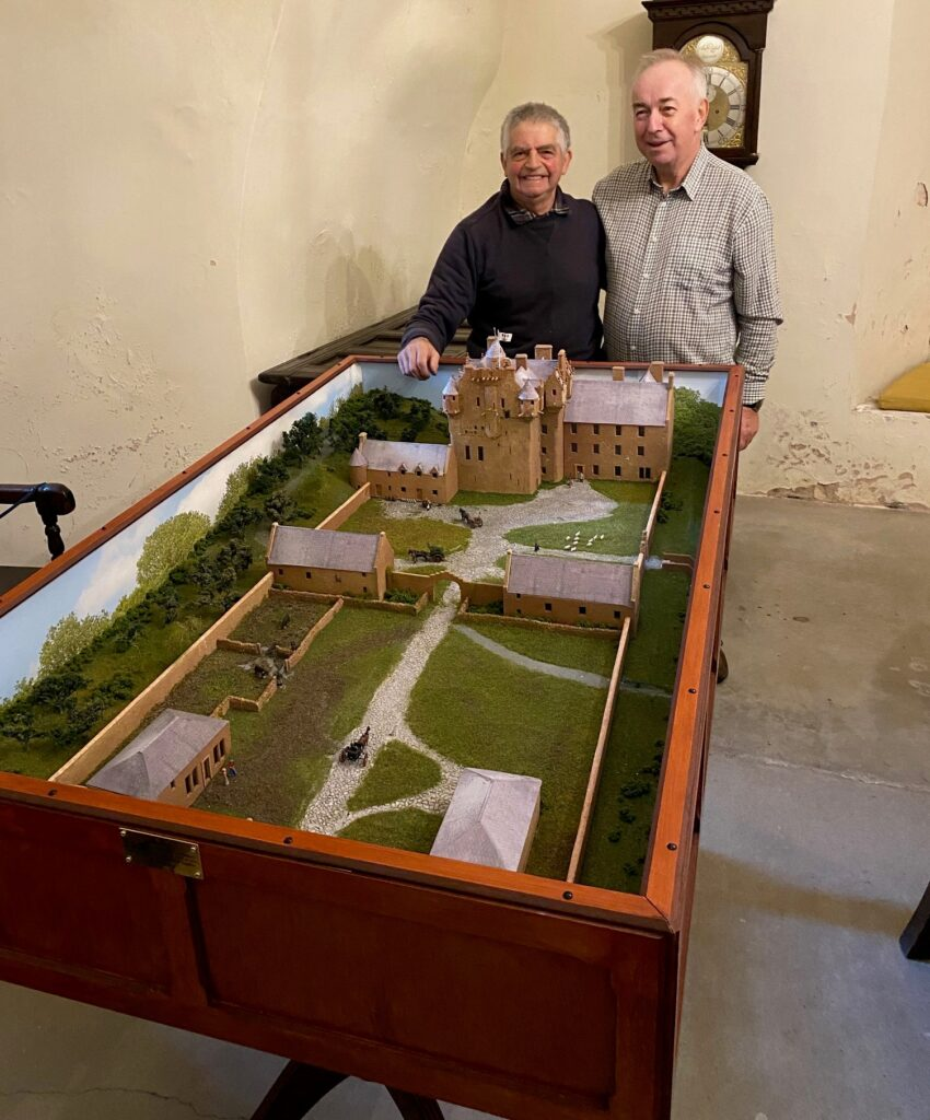 Crathes Castle model now on display