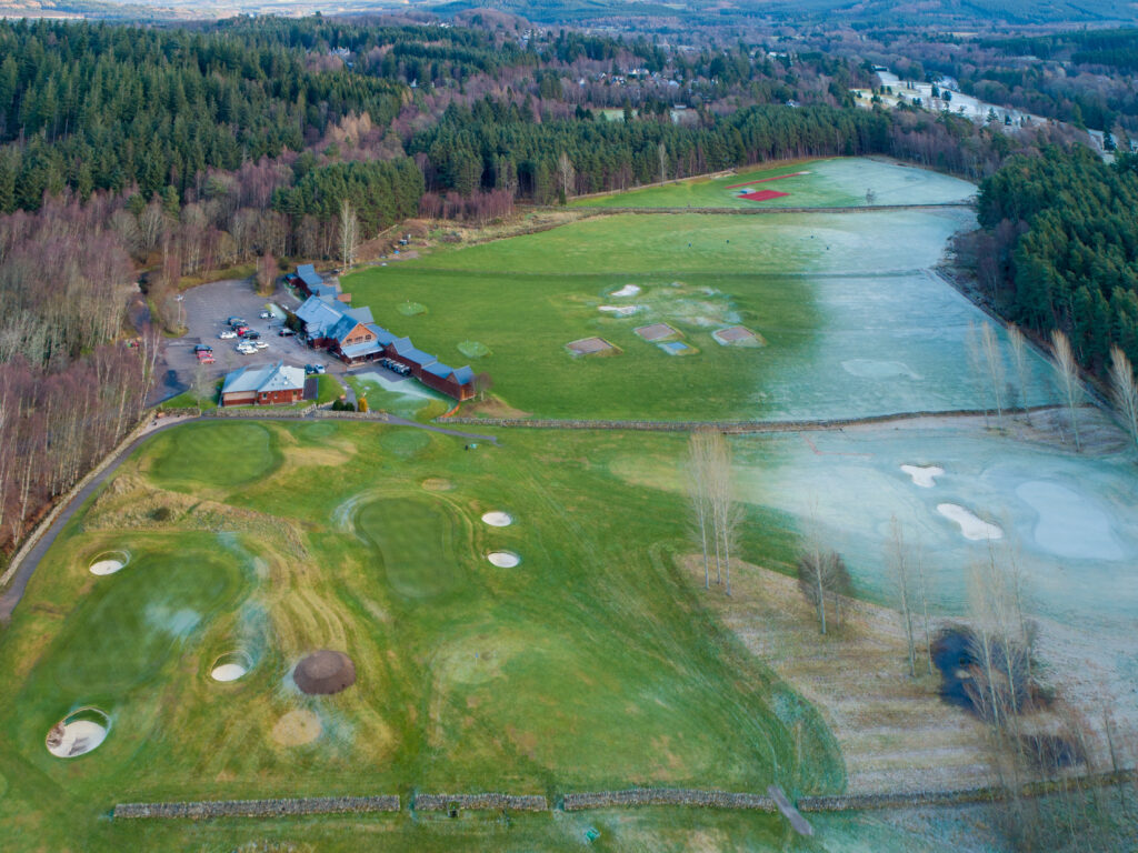 Winter at Inchmarlo Golf Centre