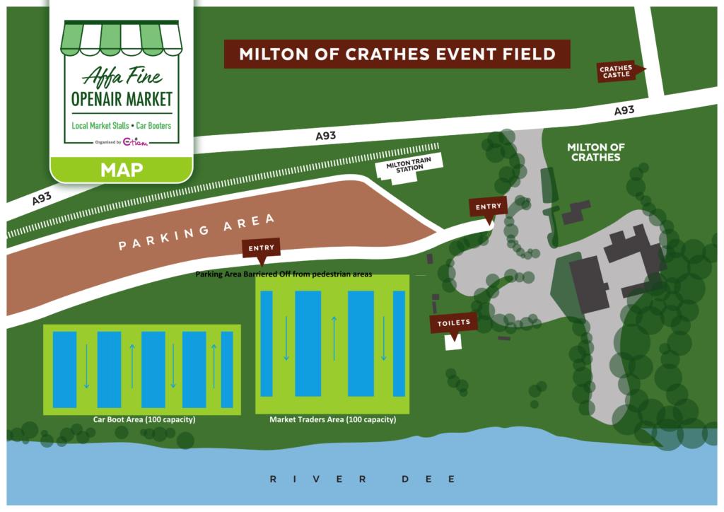 Affa Fine Market at Milton of Crathes