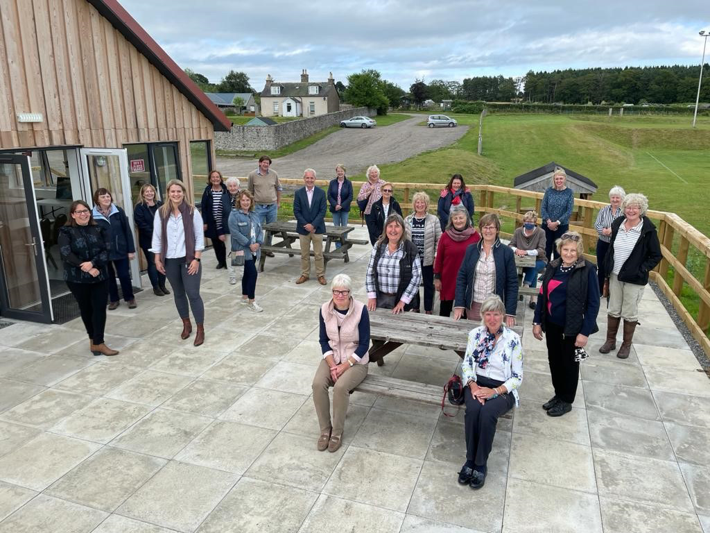 North-east Farm Women Association Visit to Leys Estate