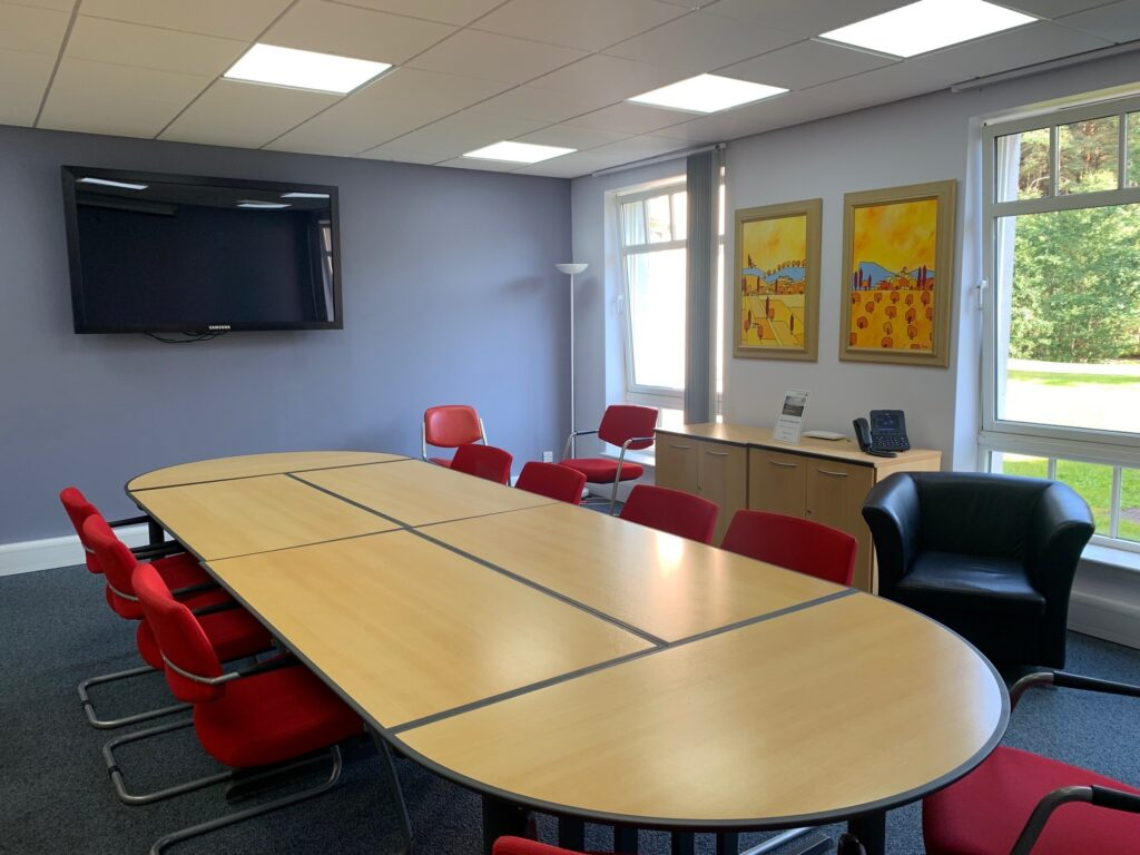 Banchory Business Centre meeting room