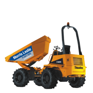 6T Thwaites Swivel Dumper for hire