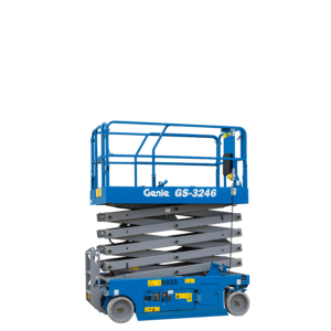Genie GS3246 32ft Electric Scissor for hire