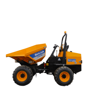 9T JCB Swivel Dumper for hire