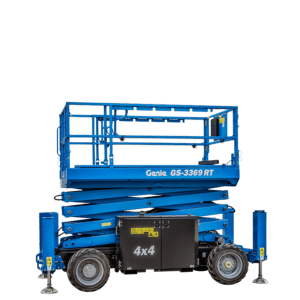 Genie GS3369RT 32ft Diesel Scissor for hire
