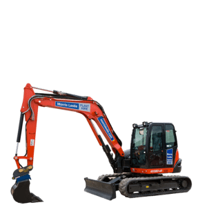 8T Kubota KX080-4A for hire