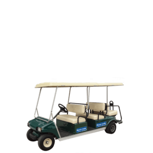 Clubcar Villager 6 Golf Buggy for hire
