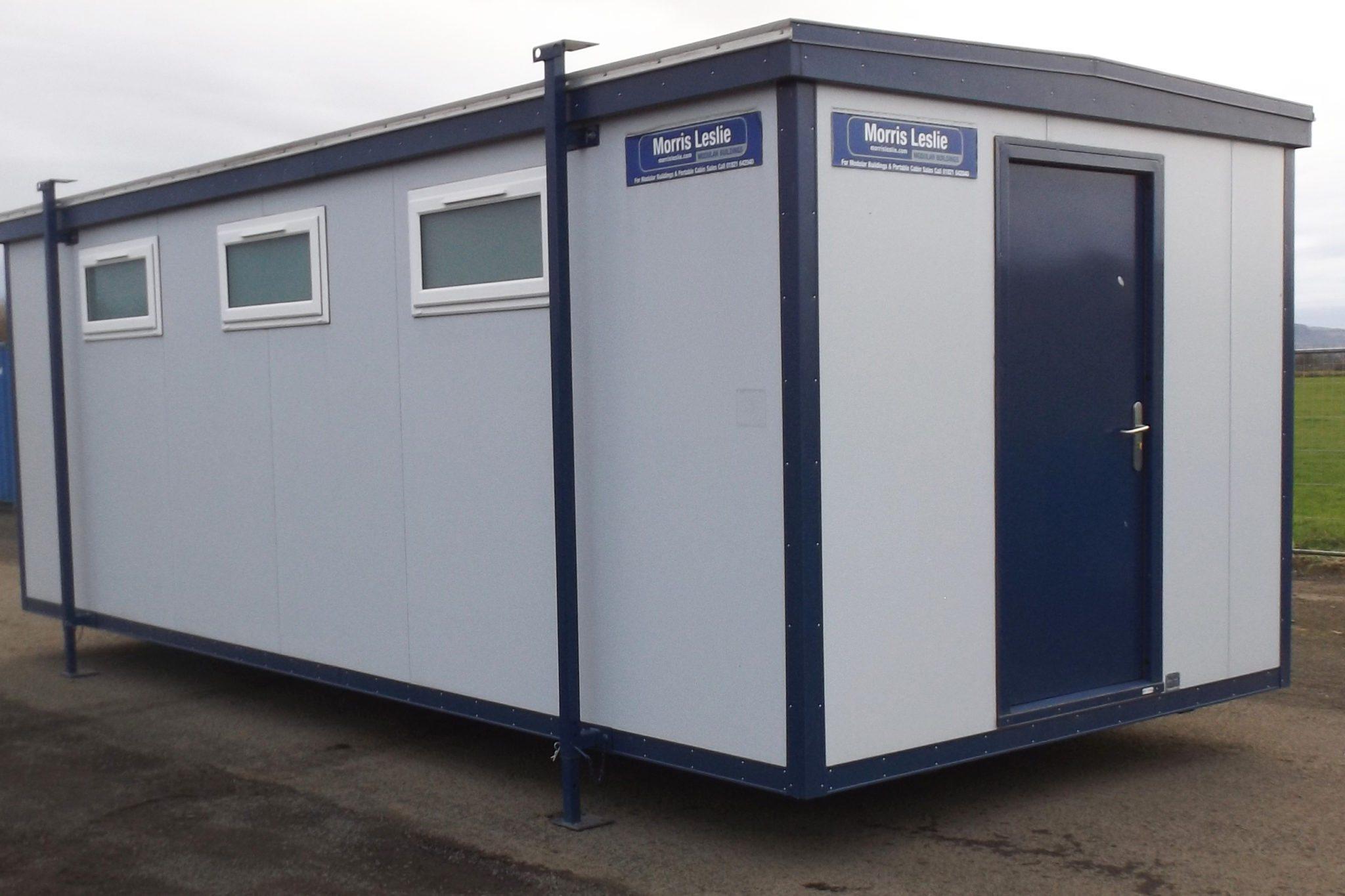 24 x 10ft Plastisol Drying Room - Morris Leslie - Modular Buildings