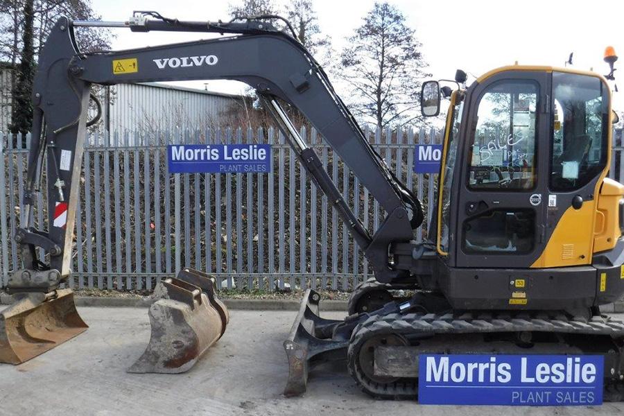 2015 Volvo ECR88D (MLP5163) - Morris Leslie - Excavators