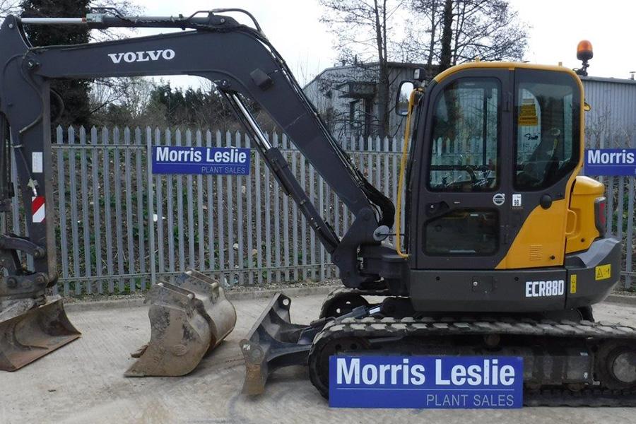 2015 Volvo ECR88D (MLP4904) - Morris Leslie - Excavators