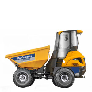 6T Swivel Mecalac Cabbed Dumper
