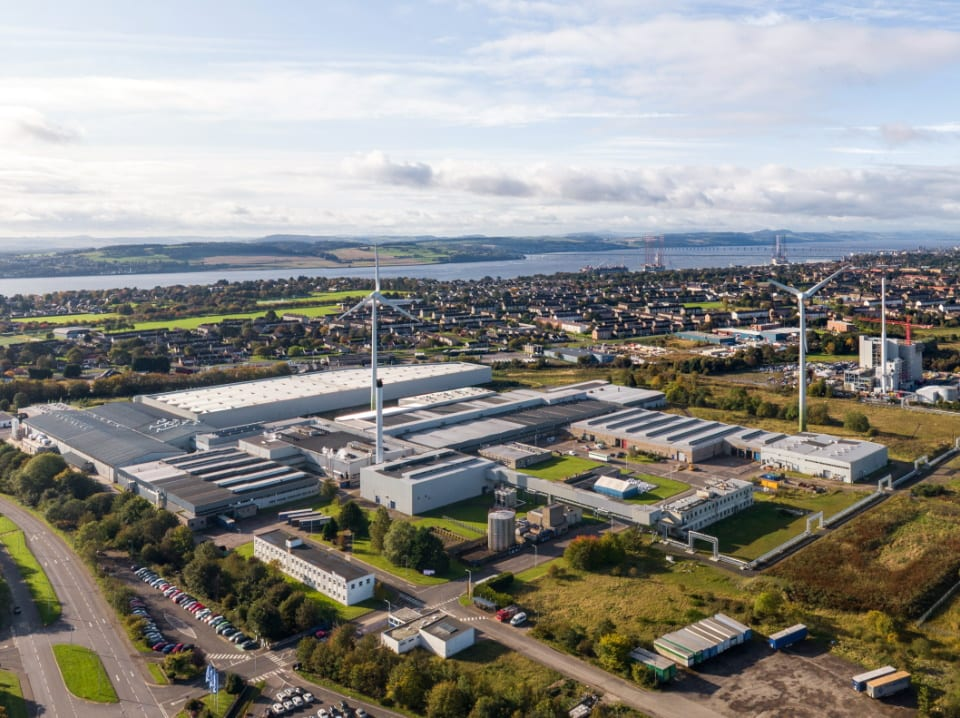 £60m for Michelin Scotland Innovation Parc
