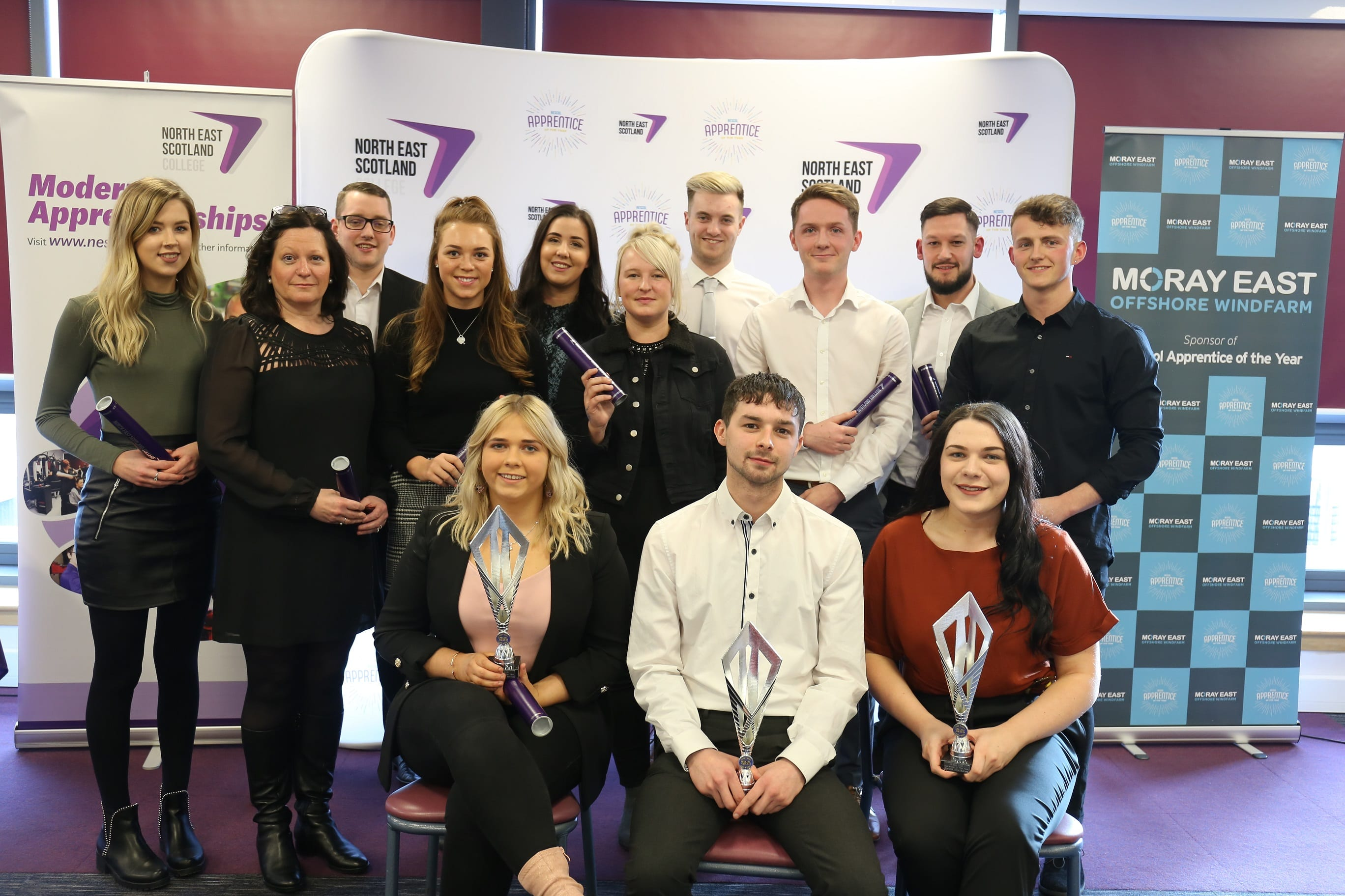 NESCol Apprentice of the Year Winners
