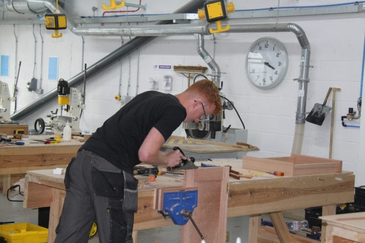 Annual carpentry and joinery challenge