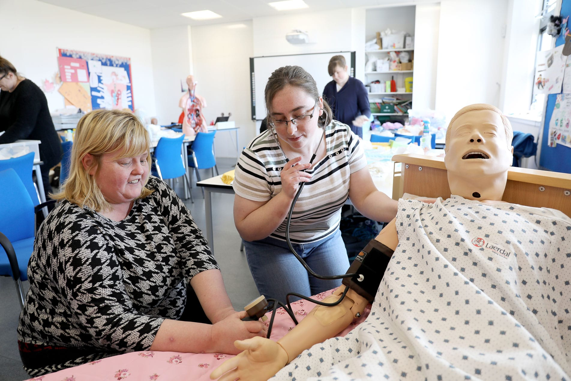 Care professions in the spotlight as frontline heroes provide inspiration to new recruits