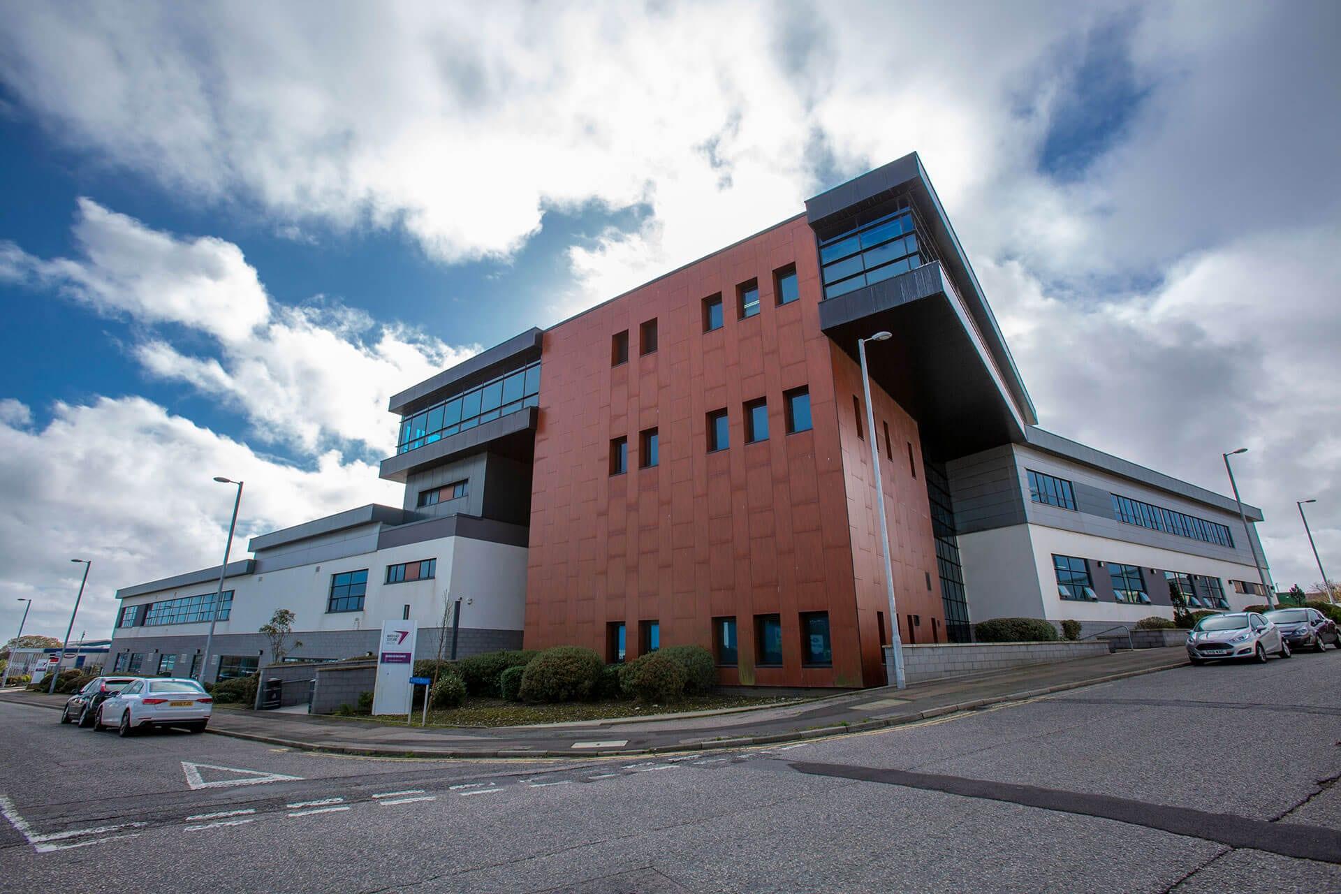 At Aberdeen Altens Campus