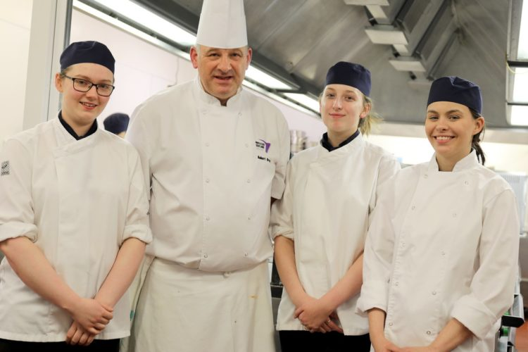 Four go to France for Michelin Star experience